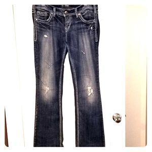 Silver jeans Aiko Boocut 30/33